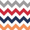 New Arrivals Inc Fabric - Zig Zag in Rugby