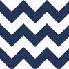 New Arrivals Inc Fabric - Zig Zag Navy