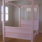 New England Farm Canopy Bed