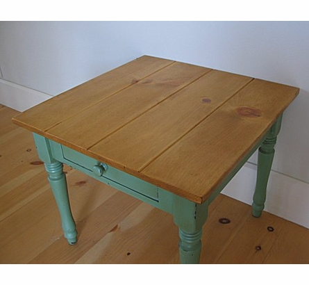 New Farm End Table