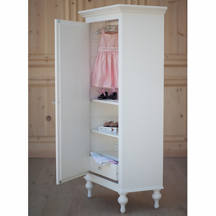 New Petite Mirrored Armoire