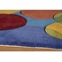 New Wave Bubbles Rug in Multi