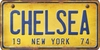 New York Custom License Plate Art