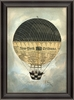 New York Tribune Hot Air Balloon Framed Wall Art