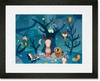 Night Critters Framed Art Print