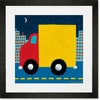 Night Delivery Wall Art Framed Art Print