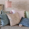 Nina Throw Pillow in Warm Pink