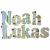 Noah Lukas Splash Hand Painted Wall Letters