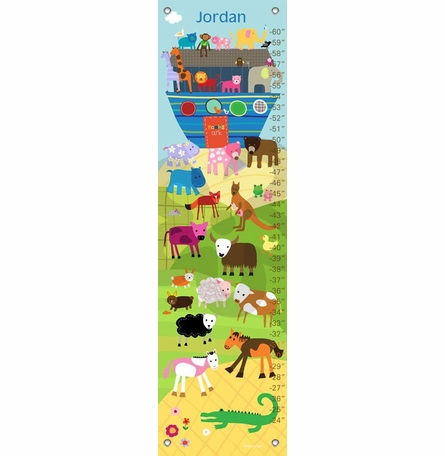 Noah's Ark and Animals Growth Chart