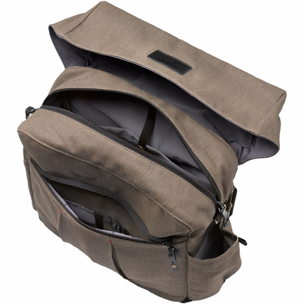 Nomad Knapsack Diaper Bag in Rugged Teak