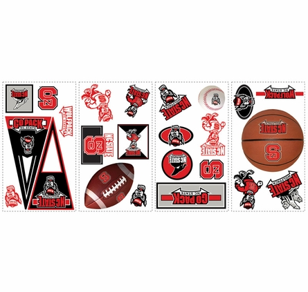 North Carolina State University Peel & Stick Applique