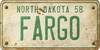 North Dakota Custom License Plate Art