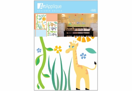 Nursery Jungle Animals Wall Decals