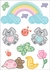 Nursery Rainbow Wall Decals