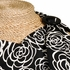 Nursing Cover in Black Camellia