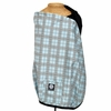 Nursing Cover in Blue Plaid