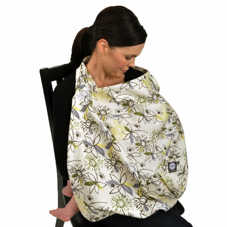 Nursing Cover in Retro Flower