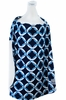 Nursing Cover in Social Circle Blue & Baby Bamboo