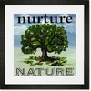 Nurture Nature Tree Framed Art Print