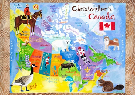 O Canada Placemat