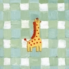 O'Neal the Giraffe Canvas Reproduction