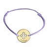 Occitan Cross Baby Bracelet in Gold Plated