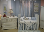 Ocean Blue Beverly Hills Crib Bedding Collection