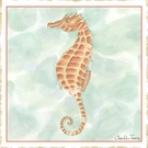 Ocean Seahorse Canvas Reproduction