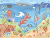 Ocean World Canvas Wall Mural