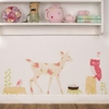 Oh Deer Girly Fabric Wall Decals