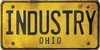 Ohio Custom License Plate Art