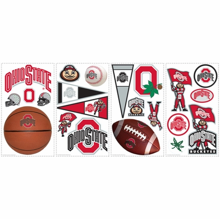 Ohio State University Peel & Stick Applique