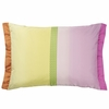 Okumi Fuchsia Throw Pillow