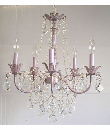 Olivia Chandelier with Leaf Detailing