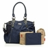 Olivia Diaper Bag in Blue