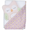 Olivia Owl Hooded Bath Towel Set