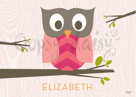 Olivia the Owl Placemat