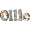 Ollie Brown Owls Hand Painted Wall Letters
