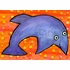 On Porpoise Canvas Wall Art
