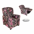 On Sale 4 Button Child Recliner Chair - Blaze Camo Pink