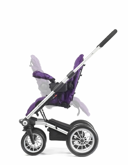 On Sale 4 Rider Team Stroller - Purple