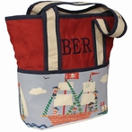 On Sale Ahoy! Tote Diaper Bag - Personalized for Brayden