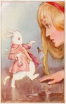 On Sale Alice In Wonderland Vintage Hanging Board
