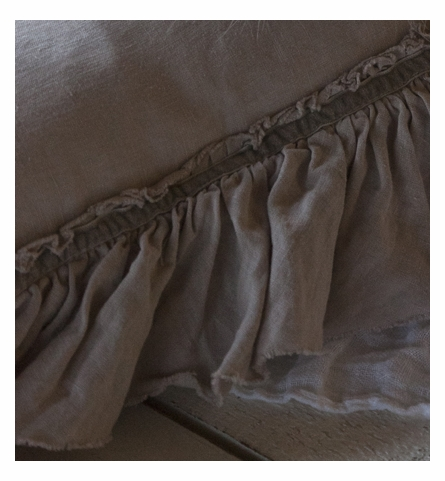 On Sale Allysa Linen Baby Blanket - Champagne