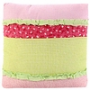 On Sale Anna's Ruffle Pink Throw Pillow