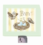 On Sale Baby Birds Nest Nightlight