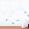 Baby Sheep in Blue Pastel Wall Decal
