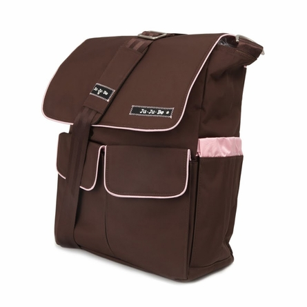 On Sale Be Hip Diaper Bag in Brown Bubblegum