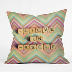 On Sale Believe In Yourself Throw Pillow - 20 Inches