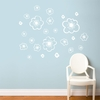 Belle in White Wall Decal